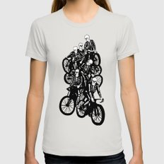 The Gang Womens Fitted Tee Silver SMALL