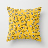 Burgers Pizza Fries And … Throw Pillow