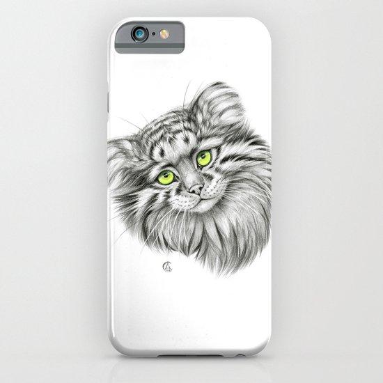 Pallas's Cat green G2012-51 iPhone & iPod Case
