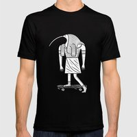 EGYPTiAN GODZ  ~ THOTH Mens Fitted Tee Black SMALL
