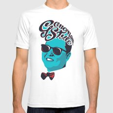 Gangnam Style Mens Fitted Tee White SMALL