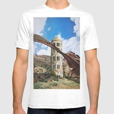 The Tower Mens Fitted Tee White SMALL