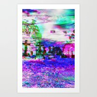 Elucidate (collaboration… Art Print