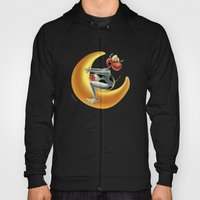 Crazy Moon Cow Hoody