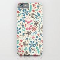 Retro Blooms iPhone 6 Slim Case