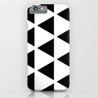 iPhone & iPod Case featuring Sleyer Black on White Pattern by Stoflab