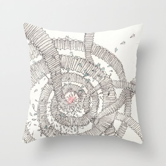 Santa is coming!!! Throw Pillow