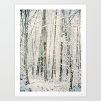 A Day In Winter Art Print