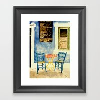 Greek Memories No. 2 Framed Art Print