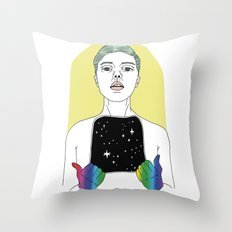 Emptiness Throw Pillow