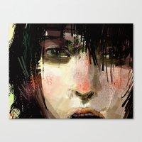 Poster Girl Canvas Print