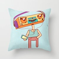 I Remember That Tune Throw Pillow