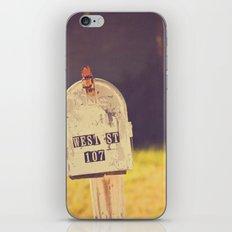 West street iPhone & iPod Skin