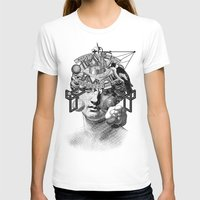 DIVIDUS  Womens Fitted Tee White SMALL