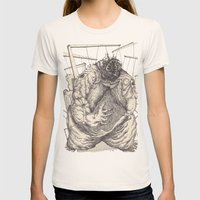 The Feverish Womens Fitted Tee Natural SMALL