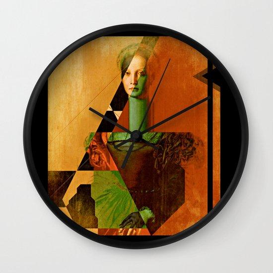 LucreziaV.3-Bronzino. Wall Clock
