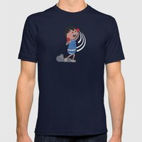 Dashing Uppercut Mens Fitted Tee Navy SMALL