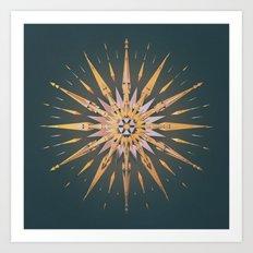 OMEGA XM.STAR (everyday 12.25.15) Art Print