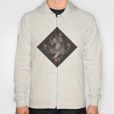Dove And Flowers Hoody