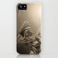 iPhone 5s & iPhone 5 Cases featuring Revenge of the Nature XIII: Guardian of the Air by Rafapasta