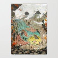 Mama Cat Canvas Print