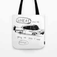 OFF TO BROOKLYN Tote Bag
