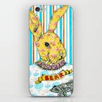 Rabbit and Bear iPhone & iPod Skin