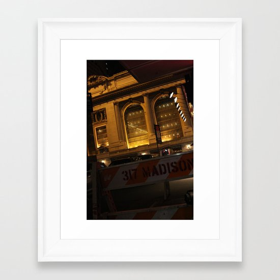 Madison Framed Art Print