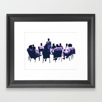 Gimps Anonymous Framed Art Print