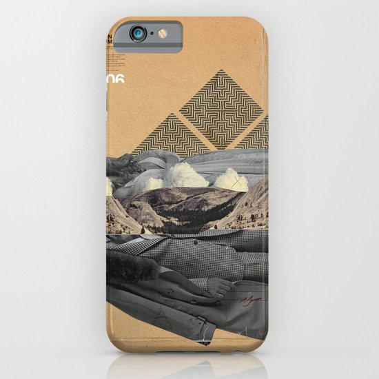 The future a time to reminisce. (mixed media) iPhone & iPod Case