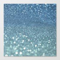 Bubbly Sea Canvas Print