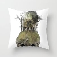 Lost Woods Throw Pillow