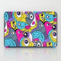 Idiot Bird Pattern iPad Case