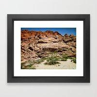 Red Rocks I Framed Art Print