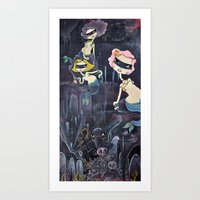 We were only trying to drown her. Art Print