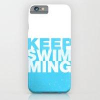 Keep Swimming iPhone 6 Slim Case