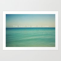 The Best (Waves) Art Print