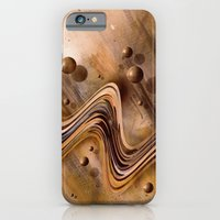 iPhone & iPod Case featuring Chocolate Waves by teddynash