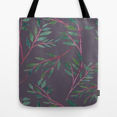 2016 Calendar Print - Red Branch Tote Bag