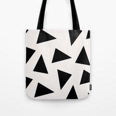black triangle pattern II Tote Bag