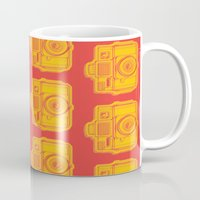 I Still Shoot Film Holga Logo - Reversed Yellow & Red Mug