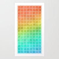 Rainbow Pattern #1 Art Print
