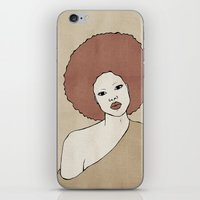Female Three iPhone & iPod Skin