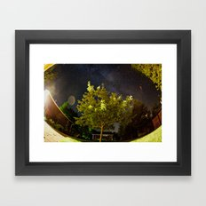 The Tree and the Stars Framed Art Print