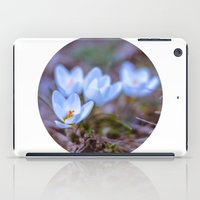 Blue Crocus iPad Case