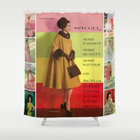 1961 Fall/Winter Catalog Cover Shower Curtain