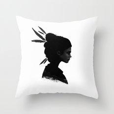 Never Never Throw Pillow