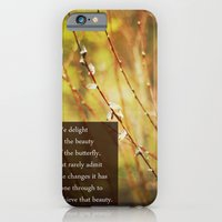 becoming a butterfly. iPhone 6 Slim Case