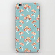 anemone flowers :: sea mist iPhone & iPod Skin