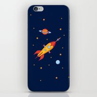 Spaceship! iPhone & iPod Skin